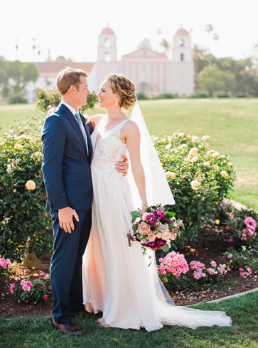 Wedding photos in Santa Barbara, California and destination weddings worldwide